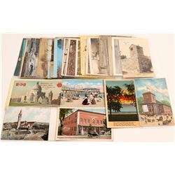 New England States Postcards  (105317)