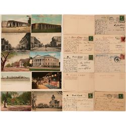 Albuquerque, New Mexico Postcards (10)  (118465)