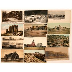 Miscellaneous New Mexico Towns Postcards (11)  (118476)