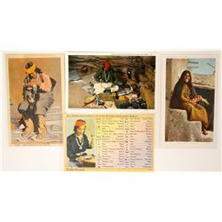 Indian Postcards (4)  (91160)