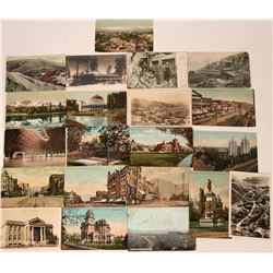 Utah- Salt Lake City, Bryce Canyon and Utah Mining Postcards (21)  (118502)