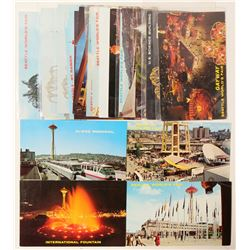 Eighteen Seattle, Washington Postcards; mostly World's Fair Complex  (103341)