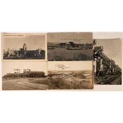 Ajo, Arizona Postcards (5)  (118527)