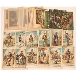 American Revolutionary War Postcards Group (55)  (118504)