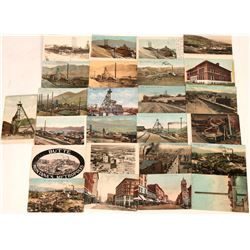 Butte, Montana Postcards (25)  (118485)