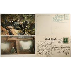 Coal Mines Postcards (2)  (118457)