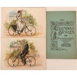 Columbia Bicycles Advertising Booklet and Cards (3)  (118493)
