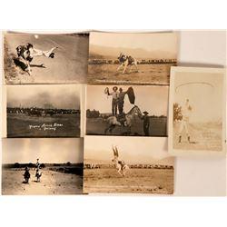 Cowboy Ropers Postcards (7)  (118453)