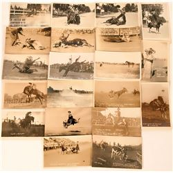 Famous Cowboys Postcards (20)  (118454)