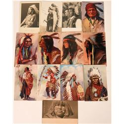 Indian Postcards including Four Tuck's (13)  (118498)