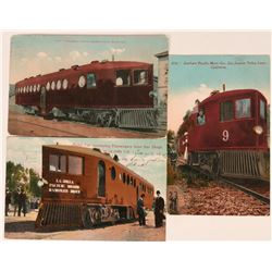Keane Railroad Car Postcards (3)  (118501)