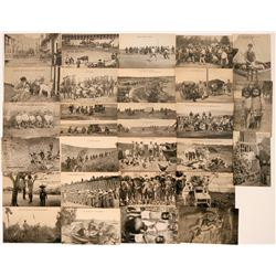 Mexico and Texas- Pancho Villa Days Postcards (28)  (118503)
