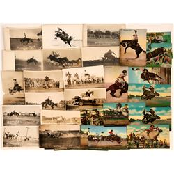 Midwestern Rodeo Postcards (32)  (118477)