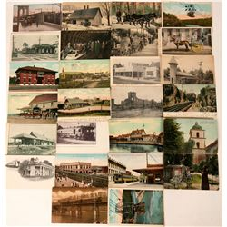 Miscellaneous U.S. Postcards (25)  (118458)