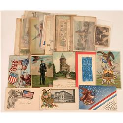Political Postcards Including Flags, War Heroes, The Star Spangled Banner and More (30)  (118545)