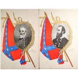 Rare Confederacy Postcards (2)  (118497)