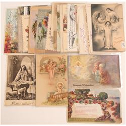Religious Themed Postcards  (105345)