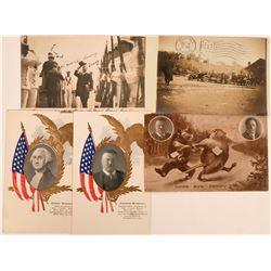 Teddy Roosevelt Postcard Group  (120662)