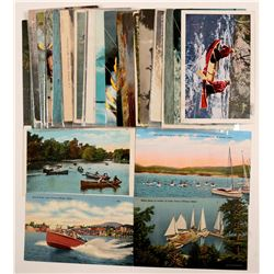 Water Sports Postcards  (104980)