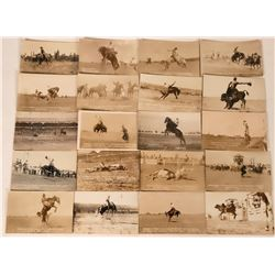 Wyoming Cowboy Postcards (20)  (118463)
