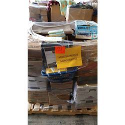 Contents of Pallet: Misc. Merchandise