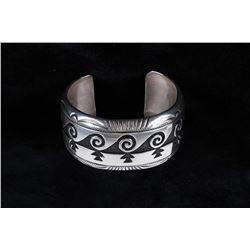 Navajo Gorgeous TR Singer Sterling Silver Bracelet