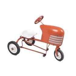 Early Minneapolis - Moline Orange Pedal Tractor