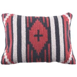 Chief��s Blanket Third Phase Cross Pillow by Diego