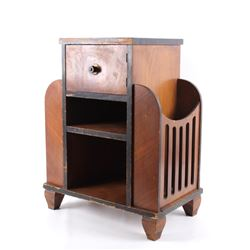 Copper Lined Humidor & Magazine Rack