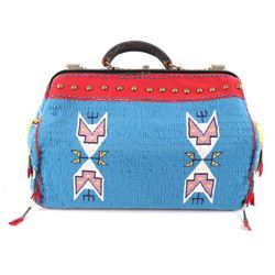 Oglala Sioux Fully Beaded Doctor's Bag by Y. Cloud