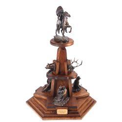 Lyle Johnson (Billings, Montana) Seven Bronzes