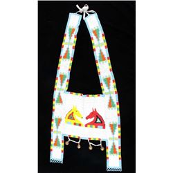 Sioux Fully Beaded Horse Martingale c. 1950-60's