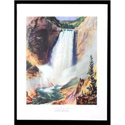 Carl Tolpo Yellowstone Park c. 1955 Litho's (25)