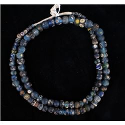 """Rare Ancient """"Roman Eye"""" Glass Beads Necklace"""