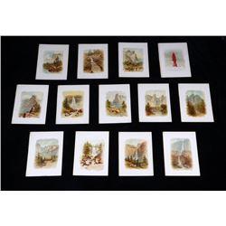 1890 Collection Yosemite Chromolithographs