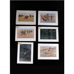 Frederic Remington Artist's Proofs Collection