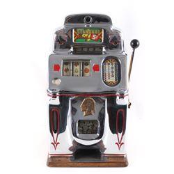 Jennings & Company Standard Chiefs 5c Slot Machine
