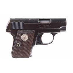 Colt Model 1908 Hammerless .25 Auto Pistol