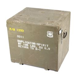 National Forest Service Storage Box & Duplicator