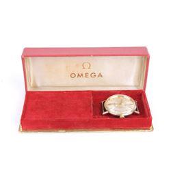 Omega Seamaster Automatic 14K Gold Watch 1964