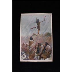 Remington, Frederic The Fire Eater... Lithograph