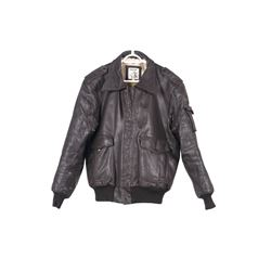 WWII Era A2 Genuine Leather Pack In Flight Jacket