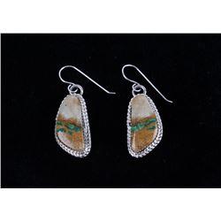 Navajo Tsosie Royston Turquoise Sterling Earrings