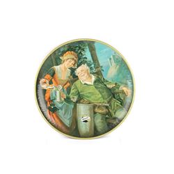 Falstaff Beer Tin Advertising Charger / Tray