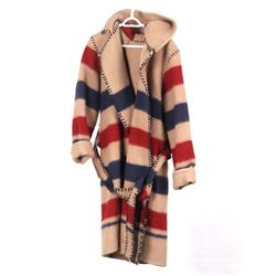 Earl's of Whitney Horse Blanket Wool Coat