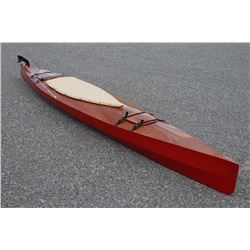 Custom Handmade Wooden Chesapeake Flat Water Kayak