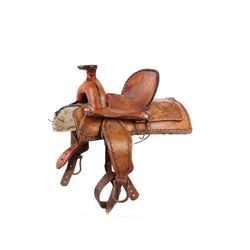 High Back Wade A-Fork Salesman Sample Saddle