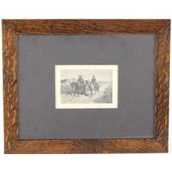 Remington, Frederic Illustration to Maruja c. 1896