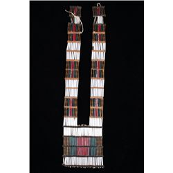 Northern Plains Bugle Beaded Breastplate Pre-1900