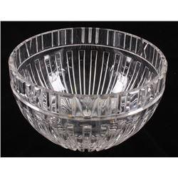 Tiffany & Co. Art Deco Crystal Serving Bowl